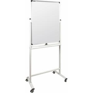 Доска магнитно-маркерная BRAUBERG Premium двусторонняя, на стенде, 236850 60x90