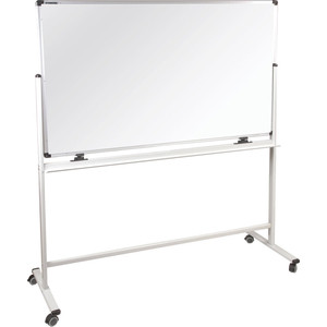 Доска магнитно-маркерная BRAUBERG Premium двусторонняя, на стенде 236927 120x180