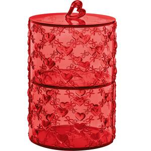 Набор из 2 контейнеров для продуктов Guzzini Love (11520165) guzzini набор чайных ложек love key 6 шт в подарочной упаковке 26840763 guzzini
