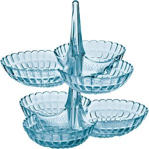 guzzini набор пиал tiffany 6шт Набор из 2 менажниц Guzzini Tiffany (19920181)