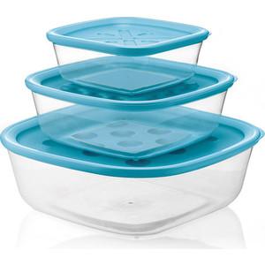 Набор из 3 контейнеров для продуктов Guzzini Forme Casa (218852134)