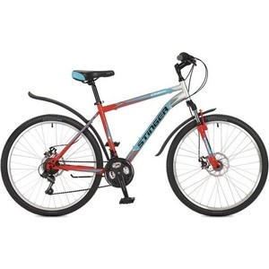 Велосипед Stinger 26 Caiman D 18 оранжевый TZ30/TY21/RS35 117269