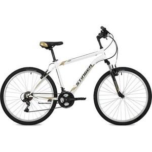 Велосипед Stinger 26 Caiman 20 белый TY21/TZ30/TS38