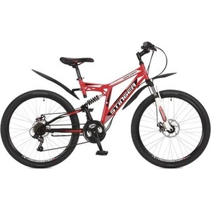 Велосипед Stinger 26 Highlander 100D 18 красный TZ30/TY21/RS35 117345 цена