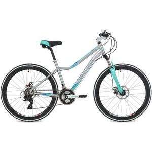Велосипед Stinger 26 Vesta Evo 15 серебристый TY300/TY300/TS38 велосипед stark vesta 26 1 s 2018