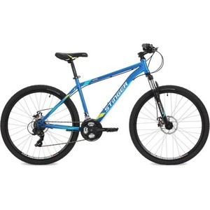 Велосипед Stinger 27.5 Aragon 16 синий TY30/TY300/TS38 велосипед stinger aragon 24 2019