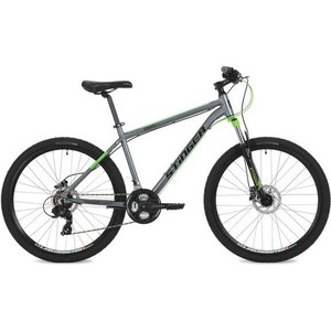 Велосипед Stinger 27.5 Graphite Evo 16 серый TY30/TY300/TS38