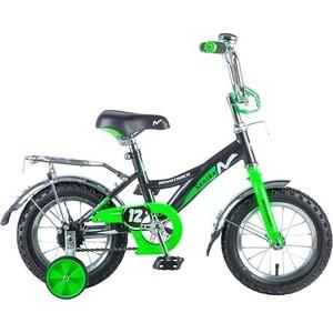 Велосипед 2-х колесный NOVATRACK 12 STRIKE черный-зеленый 125957 123STRIKE.BKG8