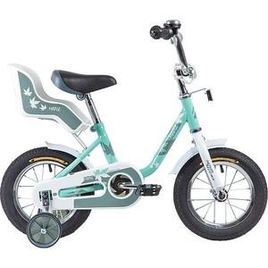 Велосипед 2-х колесный NOVATRACK 12 MAPLE серо-зеленый 124MAPLE.GR9