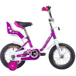 Велосипед 2-х колесный NOVATRACK 12 MAPLE сиреневый 124MAPLE.PR9 велосипед детский novatrack fs 30 цвет светло сиреневый белый черный 20