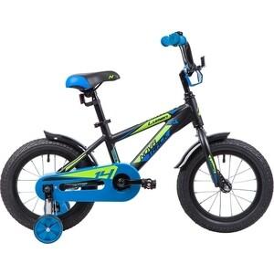 Велосипед 2-х колесный NOVATRACK 14 LUMEN алюм. черный 145ALUMEN.BK9 велосипед novatrack lumen синий 24 рама 13