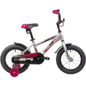 Велосипед 2-х колесный NOVATRACK 14 LUMEN алюм. серебристый 145ALUMEN.BN9 велосипед novatrack lumen синий 24 рама 13