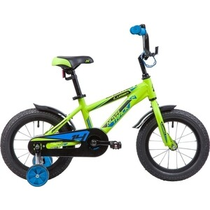 Велосипед 2-х колесный NOVATRACK 14 LUMEN алюм. зеленый 145ALUMEN.GN9