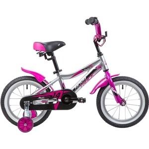 Велосипед 2-х колесный NOVATRACK 14 NOVARA алюм. серебристый 145ANOVARA.CP9