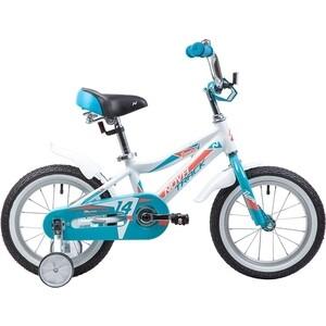 Велосипед 2-х колесный NOVATRACK 14 NOVARA алюм. белый 145ANOVARA.WT9 велосипед novatrack 16 зебра бордово белый 165 zebra clr6