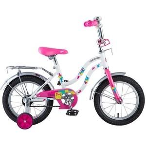 Велосипед 2-х колесный NOVATRACK 14 TETRIS белый 141TETRIS.WT8 велосипед novatrack tetris 16 16 розовый 161tetris pn8