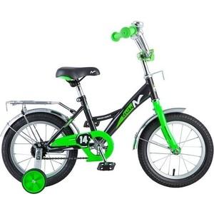 Велосипед 2-х колесный NOVATRACK 14 STRIKE черный-зеленый 143STRIKE.BKG8