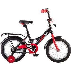 Велосипед 2-х колесный NOVATRACK 14 STRIKE черный-красный 143STRIKE.BKR8