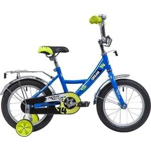 Велосипед 2-х колесный NOVATRACK 14 URBAN синий 143URBAN.BL9