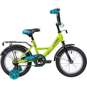 Велосипед 2-х колесный NOVATRACK 14 Vector салатовый 143VECTOR.GN9 велосипед novatrack vector 12 зелёный