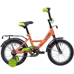 Велосипед 2-х колесный NOVATRACK 14 Vector оранжевый 143VECTOR.OR9 велосипед novatrack vector 12 зелёный