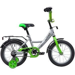 Велосипед 2-х колесный NOVATRACK 14 Vector серебристый 143VECTOR.SL9