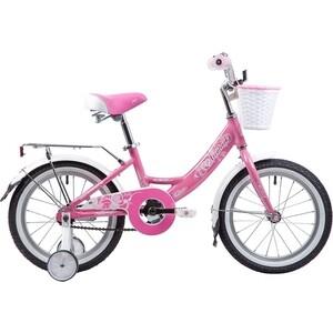 Велосипед 2-х колесный NOVATRACK 16 GIRLISH LINE розовый 165AGIRLISH.PN9 велосипед novatrack girlish line 20 2016 бело фиолетовый