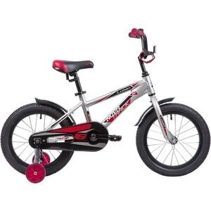 Велосипед 2-х колесный NOVATRACK 16 LUMEN алюм. серебристый 165ALUMEN.BN9 велосипед novatrack 16 зебра бордово белый 165 zebra clr6