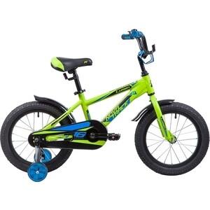 Велосипед 2-х колесный NOVATRACK 16 LUMEN алюм. зеленый 165ALUMEN.GN9
