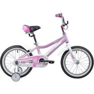 Велосипед 2-х колесный NOVATRACK 16 NOVARA алюм. розовый 165ANOVARA.PN9 велосипед novatrack tetris 16 16 розовый 161tetris pn8