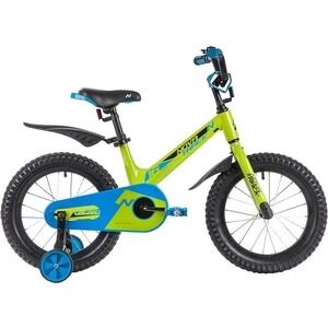 Велосипед 2-х колесный NOVATRACK 16 Магний-Алюминиевая рама BLAST зеленый 165MBLAST.GN9 велосипед novatrack 16 зебра бордово белый 165 zebra clr6