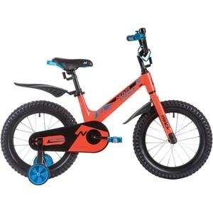 Велосипед 2-х колесный NOVATRACK 16 Магний-Алюминиевая рама BLAST оранжевый 165MBLAST.OR9 велосипед novatrack 16 зебра бордово белый 165 zebra clr6