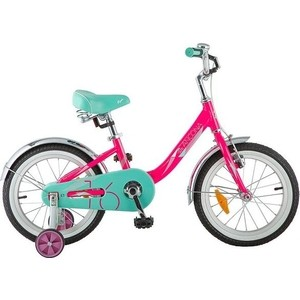 Велосипед 2-х колесный NOVATRACK 16 ANCONA розовый 167AANCONA.PN8 велосипед novatrack tetris 16 16 розовый 161tetris pn8