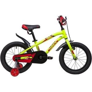 Велосипед 2-х колесный NOVATRACK 16 PRIME алюм. салатовый 167APRIME.GN9 велосипед novatrack 16 зебра бордово белый 165 zebra clr6