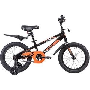 Велосипед 2-х колесный NOVATRACK 16 JUSTER черный 165JUSTER.BK9