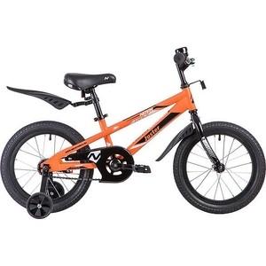 Велосипед 2-х колесный NOVATRACK 16 JUSTER оранжевый 165JUSTER.OR9
