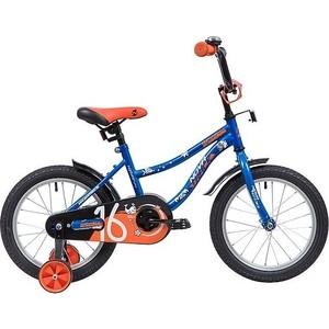 Велосипед 2-х колесный NOVATRACK 16 NEPTUNE синий 098584 163NEPTUN.BL9