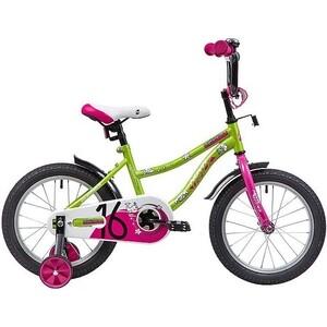 Велосипед 2-х колесный NOVATRACK 16 NEPTUNE салатовый 163NEPTUN.GN9 велосипед novatrack neptune 12 2016
