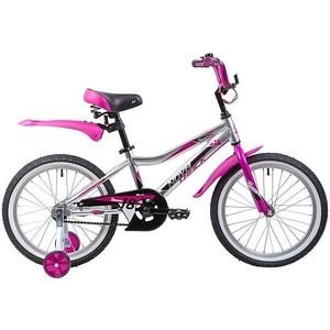 Велосипед 2-х колесный NOVATRACK 18 NOVARA алюм. серебристый 185ANOVARA.CP9