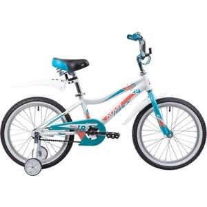 Велосипед 2-х колесный NOVATRACK 18 NOVARA алюм. белый 185ANOVARA.WT9 велосипед novatrack 16 зебра бордово белый 165 zebra clr6