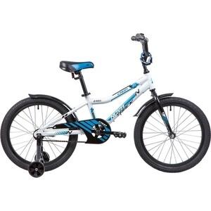 Велосипед 2-х колесный NOVATRACK 20 CRON белый 205ACRON.WT9 велосипед novatrack 16 зебра бордово белый 165 zebra clr6