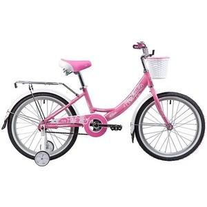 Велосипед 2-х колесный NOVATRACK 20 GIRLISH line розовый 205AGIRLISH.PN9 велосипед novatrack girlish line 20 2016 бело фиолетовый