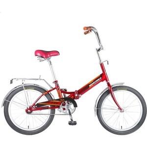 Велосипед 2-х колесный NOVATRACK 20 складной TG20 красный 117069 20FTG201.RD7