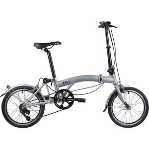 Велосипед 2-х колесный NOVATRACK 20 складной алюминиевый рама в 2 сложения 117051 162FATG3S.GR7