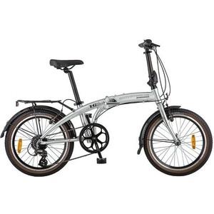 Велосипед 2-х колесный NOVATRACK 20 складной серебр RDM310/TS71/HG20 20FATG8SV.CP8