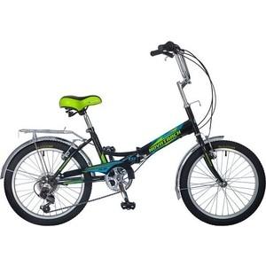 цена на Велосипед 2-х колесный NOVATRACK 20 складной FS30 черный Shimano TY-21 20FFS306SV.BK8