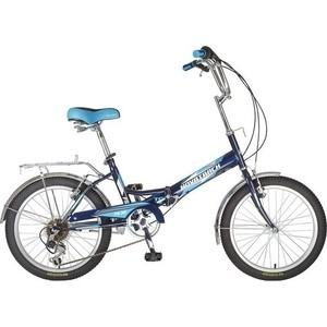 Велосипед 2-х колесный NOVATRACK 20 складной FS30 синий Shimano TY-21 117068 20FFS306SV.BL7