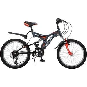 Велосипед 2-х колесный NOVATRACK 20 TITANIUM серый 107127 20SS12V.TITANIUM.GR6