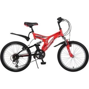 Велосипед 2-х колесный NOVATRACK 20 TITANIUM красный 107128 20SS12V.TITANIUM.RD6