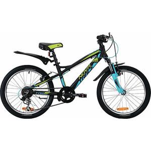 Велосипед 2-х колесный NOVATRACK 20 TORNADO черный 20AH7V.TORNADO.BK9